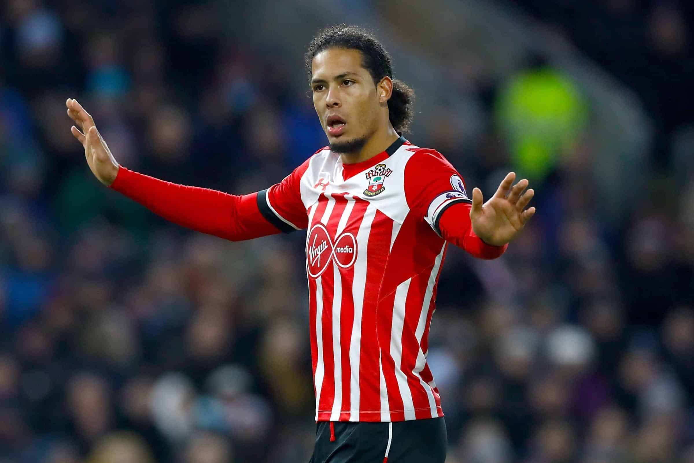 File photo dated 14-01-2017 of Virgil van Dijk.