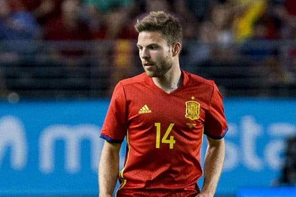 Asier Illarramendi of Spain during the friendly match between Spain and Colombia at Nueva Condomina Stadium in Murcia, June 07, 2017. Spain. (Photo by Rodrigo Jimenez/Alter Photos) *** Please Use Credit from Credit Field ***