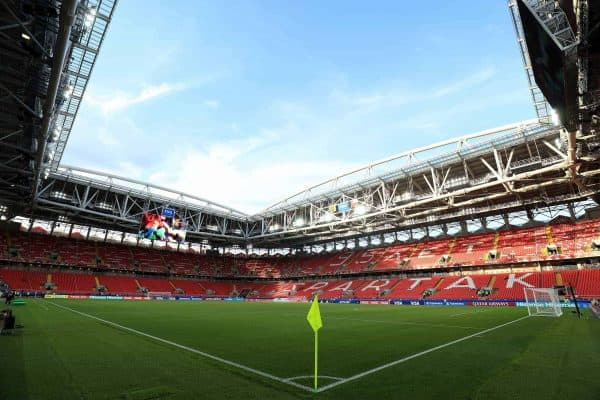 A view inside the Spartak Stadium before the game (PA Images)