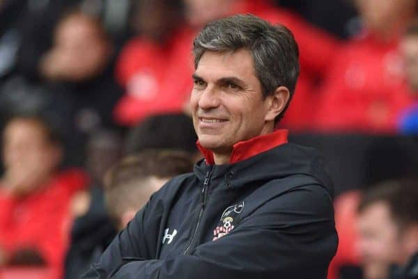 "Southampton Mauricio Pellegrino during the pre-season friendly match at St Mary's, Southampton. PRESS ASSOCIATION Photo. Picture date: Wednesday August 2, 2017. See PA story SOCCER Southampton. Photo credit should read: Simon Galloway/PA Wire. RESTRICTIONS: EDITORIAL USE ONLY No use with unauthorised audio, video, data, fixture lists, club/league logos or ""live"" services. Online in-match use limited to 75 images, no video emulation. No use in betting, games or single club/league/player publications."