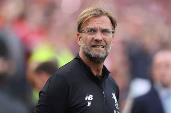 Liverpool manager Jurgen Klopp ahead of the pre-season friendly match at the Aviva Stadium, Dublin.