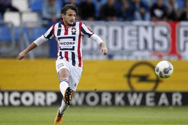 Pedro Chirivella of Willem II during the Dutch Eredivisie match between Willem II Tilburg and ADO Den Haag at Koning Willem II stadium on September 09, 2017 in Tilburg, The Netherlands