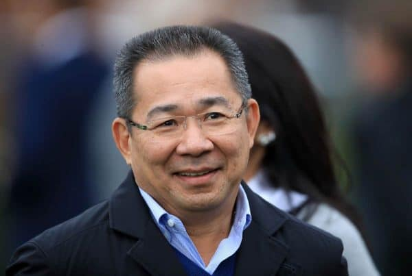 Leicester City chairman and member of King Power Racing Co Ltd Khun Vichai Srivaddhanaprabha (Photo: Mike Egerton/PA Wire)