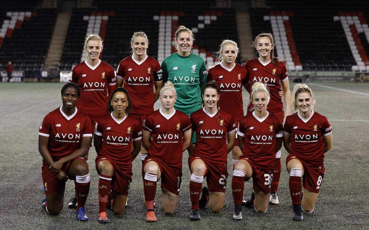 Liverpool Ladies team photo 2017 (PA Images)