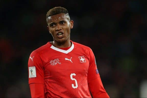 Switzerland's Manuel Akanji -  Nick Potts/PA Archive/PA Images