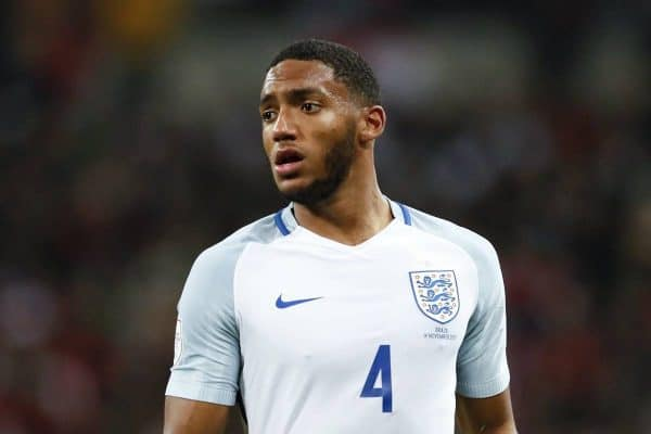 England's Joe Gomez in action during the International friendly match at Wembley Stadium, London . Picture date: 14th November 2017. Picture credit should read: David Klein/Sportimage via PA Images