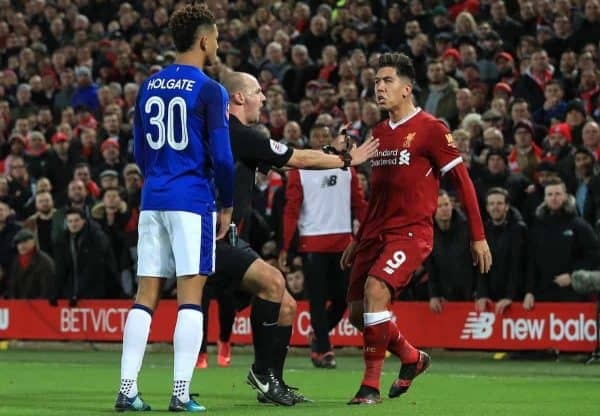 Roberto Firmino set for interview as FA investigate Mason Holgate racism claim