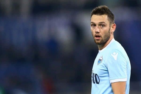 Stefan de Vrij of Lazio during the Serie A match between SS Lazio and Udinese Calcio on January 24, 2018 in Rome, Italy. (Photo by Matteo Ciambelli/NurPhoto/Sipa USA)