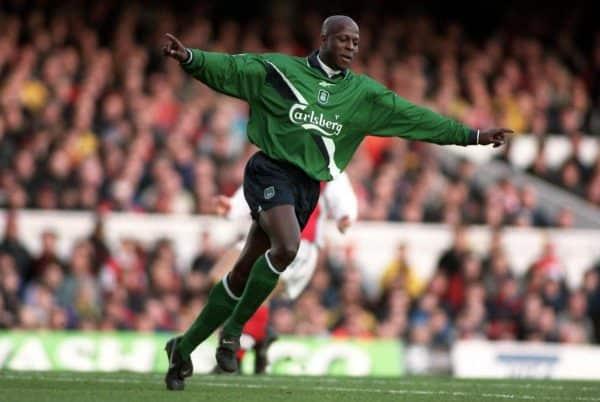 Titi Camara, Arsenal, Highbury, 1999 (Mike Egerton/EMPICS Sport)