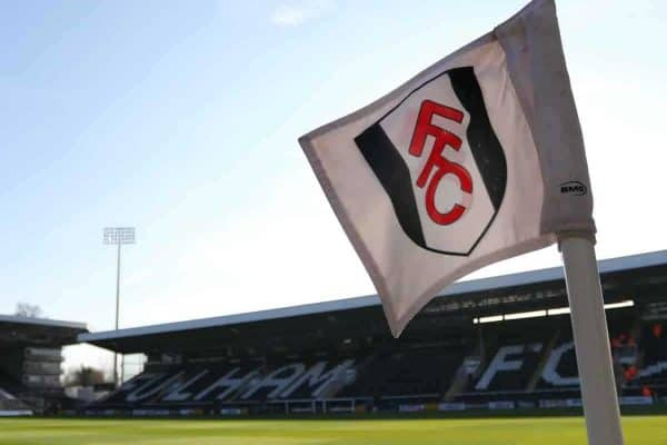 A general view of a Craven Cottage corner flag before the Championship match (Mark Kerton/PA Wire/PA Images)