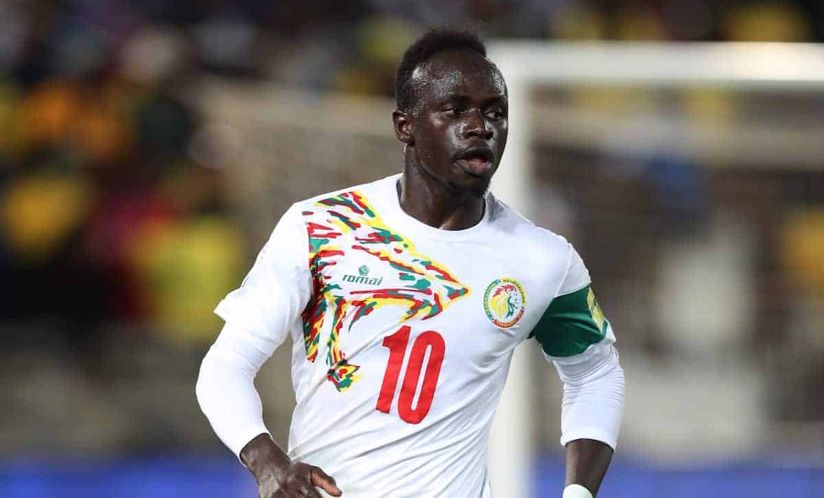 Sadio Mane Senegal National Team