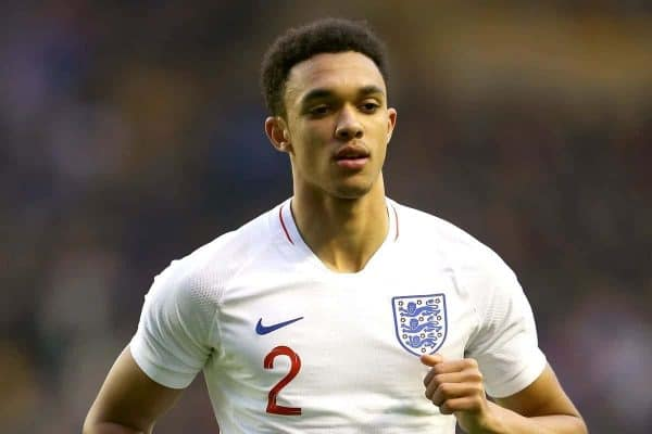 Trent Alexander-Arnold - England National Team (Photo: Nigel French/PA Wire.)
