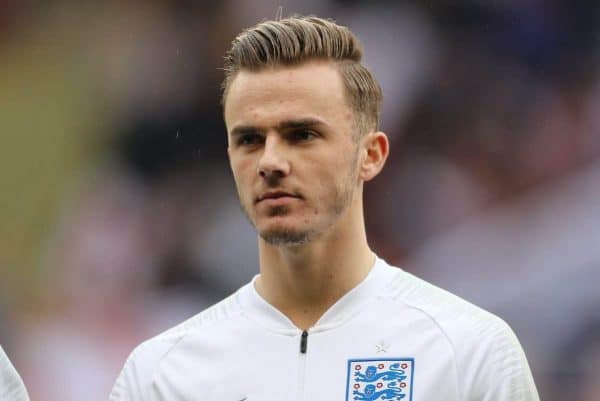 James Maddison of England during the Euro U21 Qualifying match at Bramall Lane Stadium, Sheffield. Picture date: 27th March 2018. Picture credit should read: Simon Bellis/Sportimage via PA Images