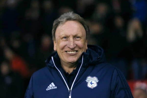 Cardiff City manager Neil Warnock . (Richard Sellers/PA Wire.)