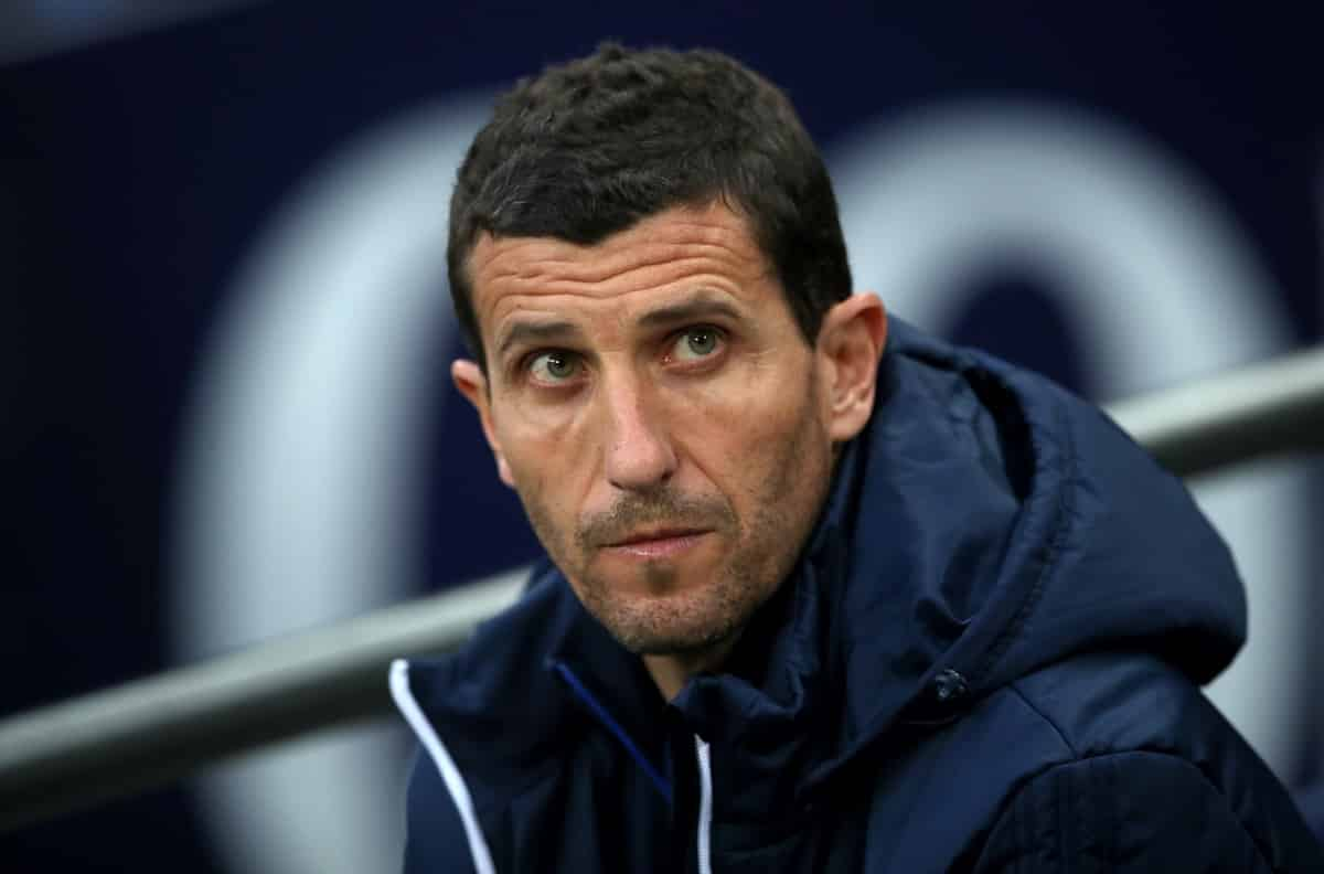 Watford manager Javi Gracia during the Premier League match at Wembley Stadium. London. (Nick Potts/PA Wire/PA Images)