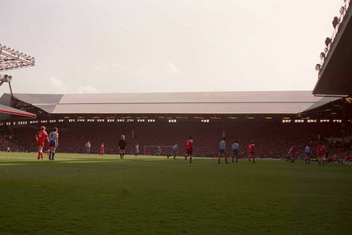 Old Kop, 1990s (Picture by: Neal Simpson / EMPICS Sport)