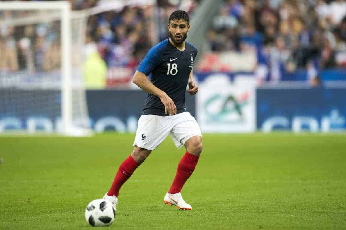 Nabil Fekir of France in action during the International friendly match between France and Republic of Ireland at Stade de France in Saint Denis, Paris, France on May 28, 2018 (Photo by Andrew Surma/NurPhoto/Sipa USA)