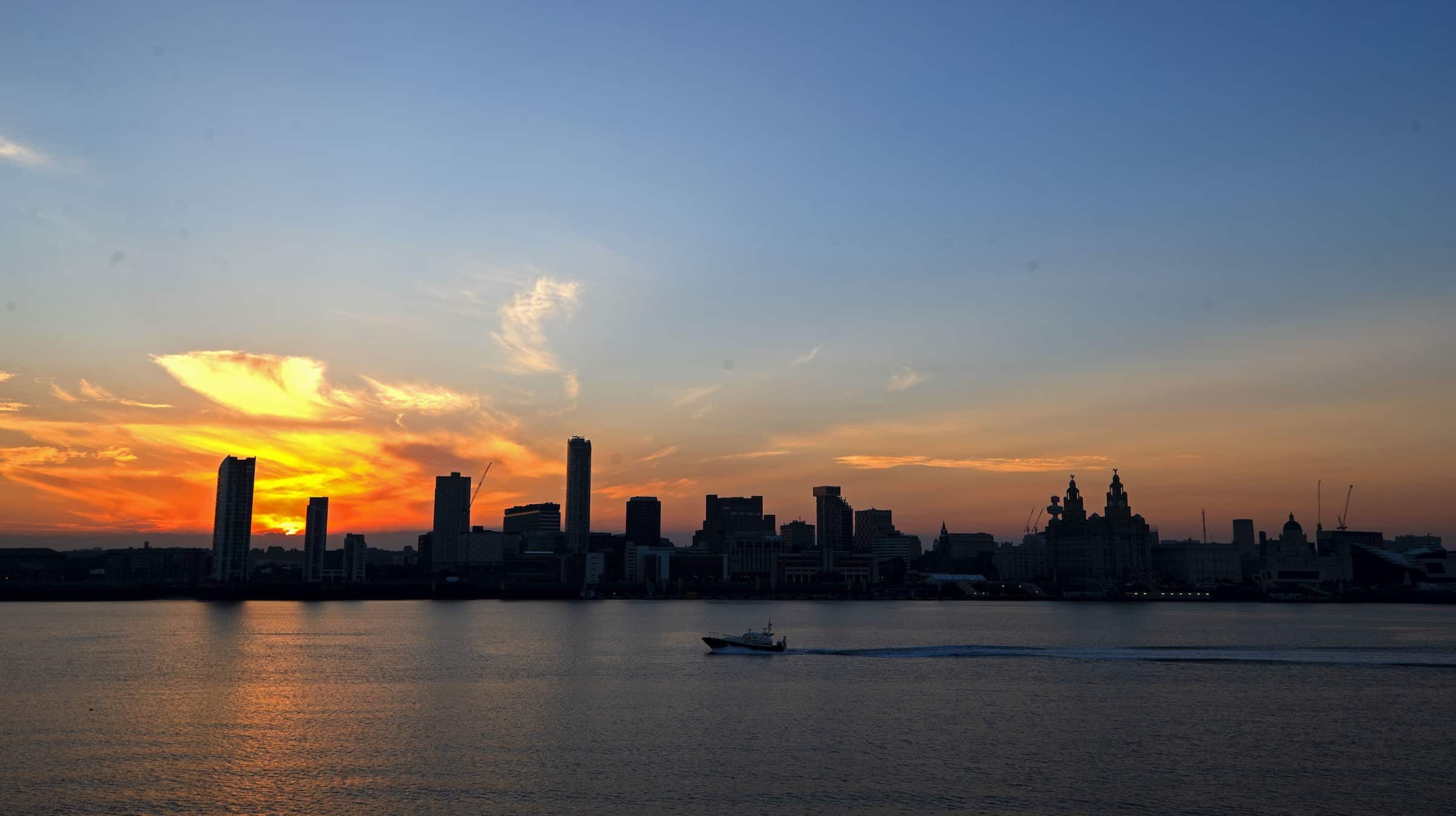Liverpool city centre River Mersey (PA Images)