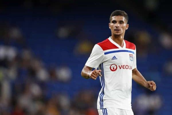 Lyon's Houssem Aouar (Photo: David Klein/Sportimage via PA Images)