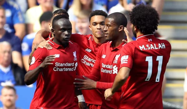 Resultado de imagen para Leicester 1-2 Liverpool