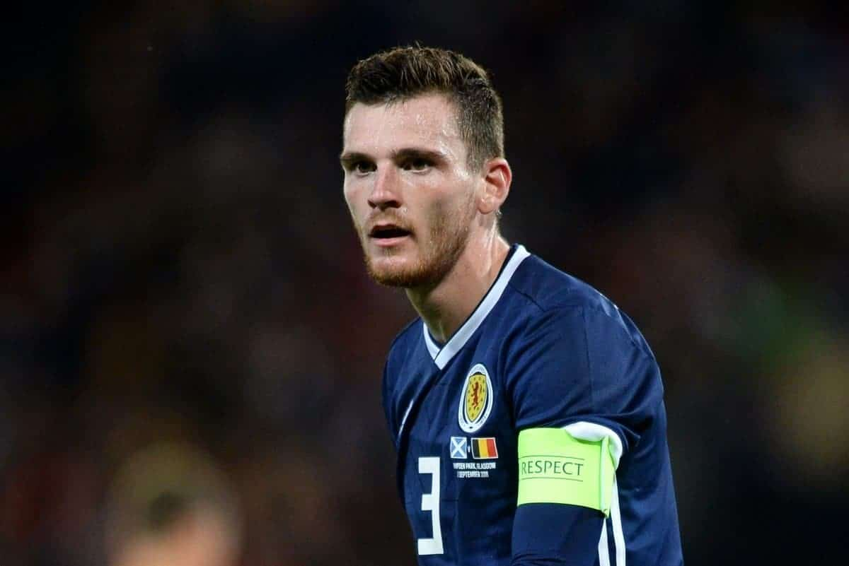 Andy Robertson of Scotland during the International Friendly match at Hampden Park, Glasgow. Picture date 7th September 2018. Picture credit should read: Richard Lee/Sportimage via PA Images