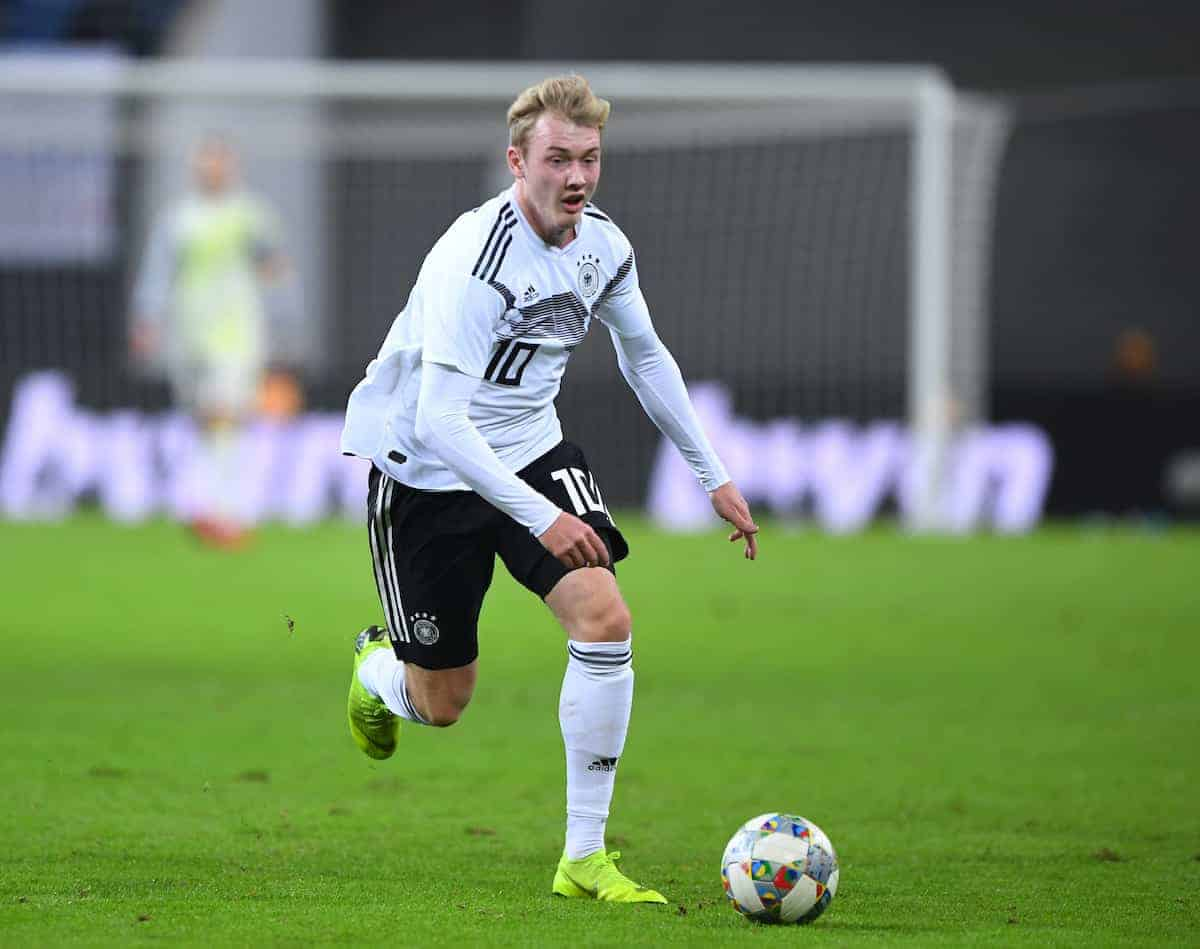 Julian Brandt Germany ( Marvin Ibo Guengoer/DPA/PA Images)