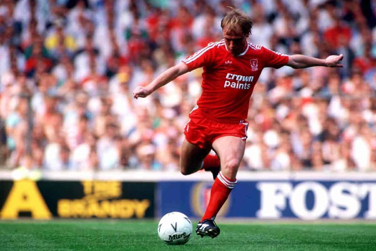 Steve McMahon, Liverpool - Peter Robinson/EMPICS Sport