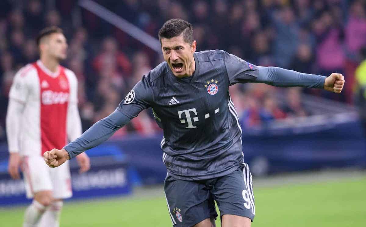 Bayern Munich's Robert Lewandowski (Sven Hoppe/DPA/PA Images)