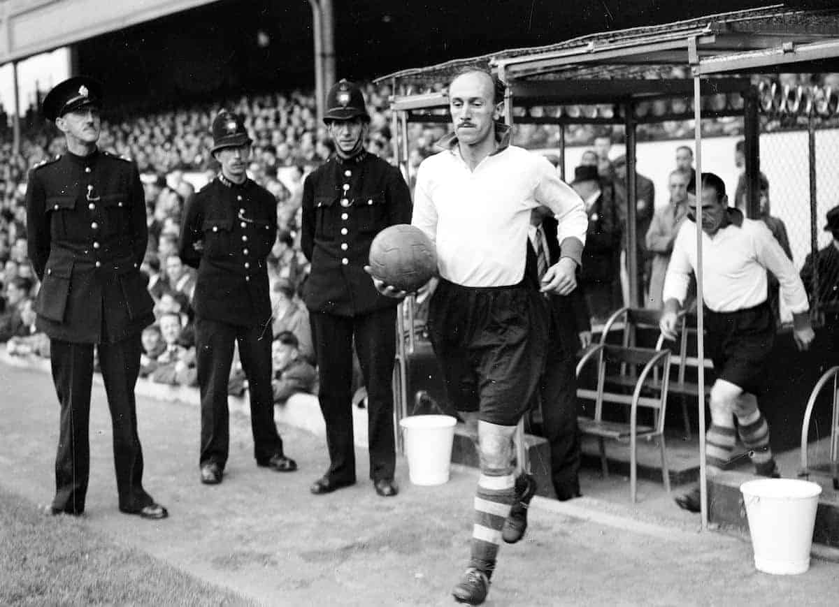 Liverpool's Jack Balmer runs out before the match
