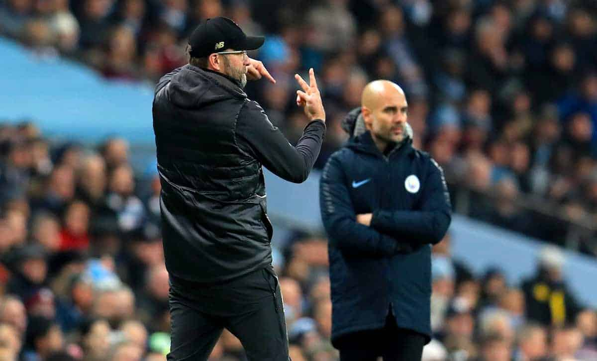 Klopp, Guardiola (Mike Egerton/EMPICS Sport)