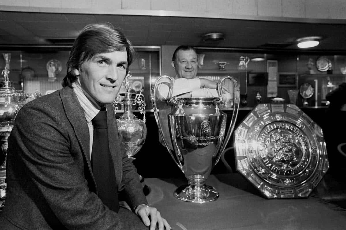 Kenny Dalglish, Bob Paisley - archive-181209-3