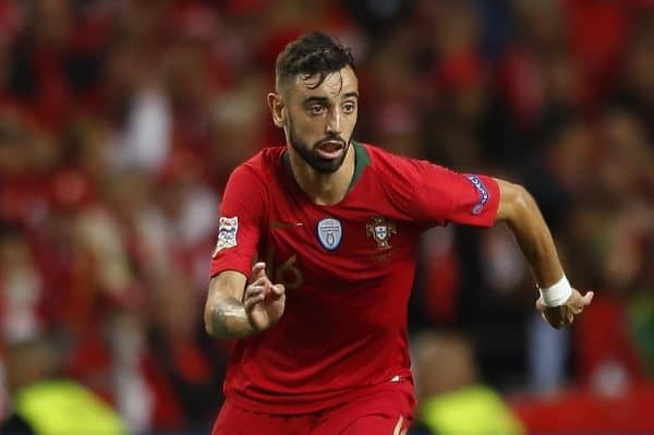 Bruno Fernandes (POR), JUN 5, 2019 - Football / Soccer : UEFA Nations League Semi-finals match between Portugal 3-1 Switzerland at the Estadio do Dragao in Porto, Portugal. (Photo by Mutsu Kawamori/AFLO)
