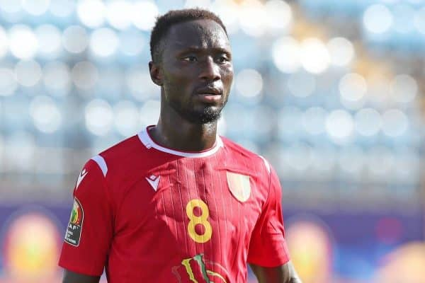 Naby Deco Keita of Guinea during the 2019 Africa Cup of Nations match between Nigeria and Guinea at the Alexandria Stadium, Alexandria on the 26 June 2019 ©Muzi Ntombela/BackpagePix