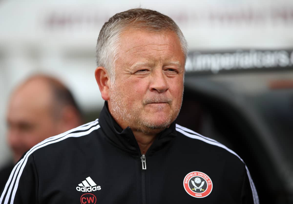 Sheffield United manager Chris Wilder (PA Images)