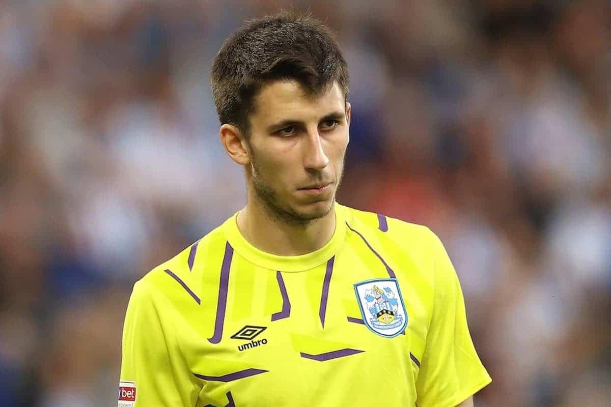 Huddersfield Town goalkeeper Kamil Grabara (Tim Goode/EMPICS Sport)