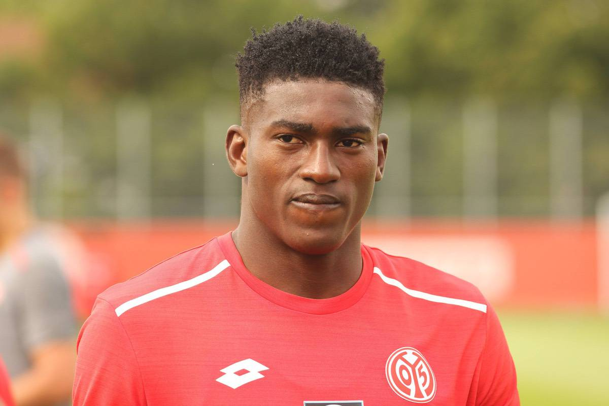 TAIWO AWONIYI TRAINING MAINZ 05 MAINZ.