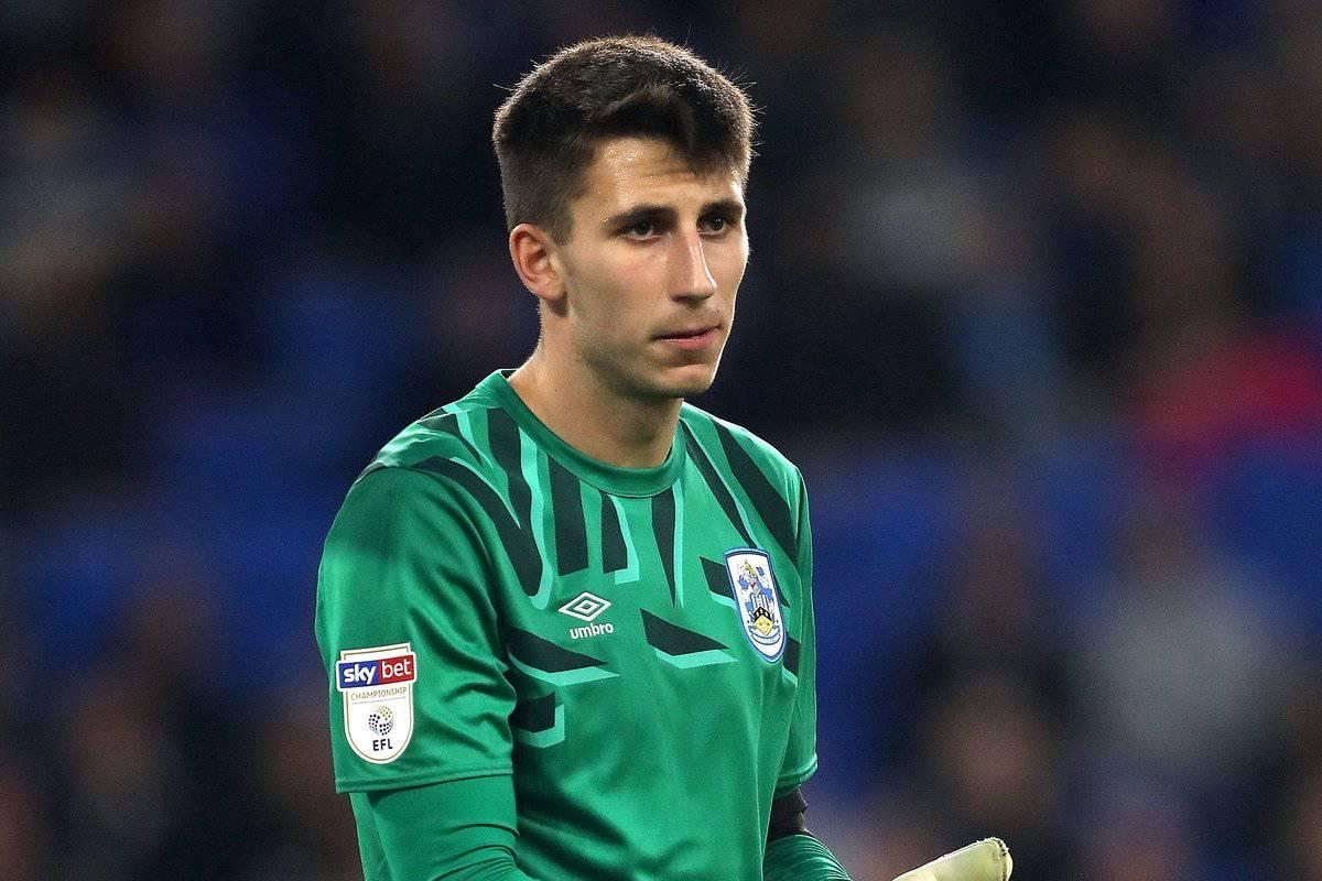 Huddersfield Town's Kamil Grabara (David Davies/EMPICS Sport)