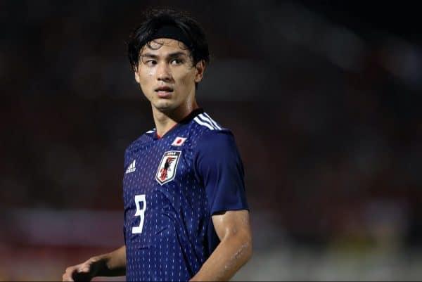 Takumi Minamino (JPN), September 10, 2019 - Football / Soccer : FIFA World Cup Qatar 2022 Asian Qualifier Second Round Group F match between Myanmar 0-2 Japan at Thuwunna Stadium in Yangon, Myanmar, (Photo by AFLO)