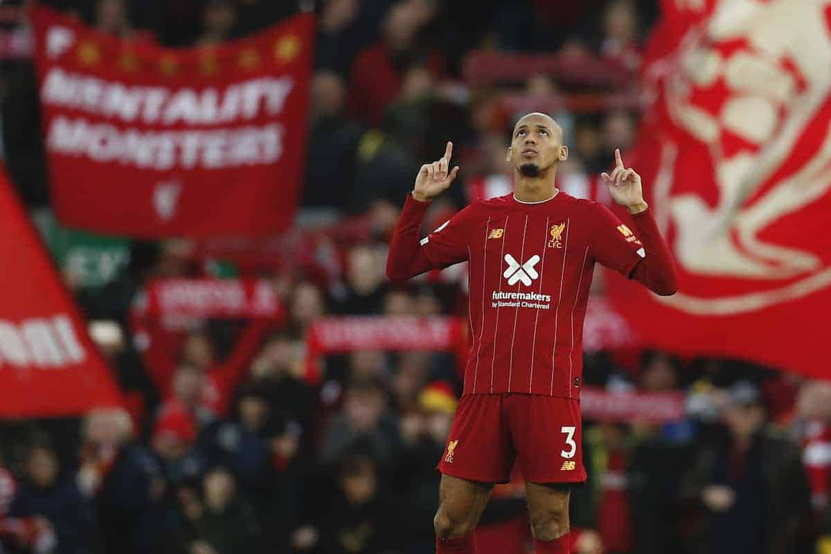 Fabinho of Liverpool (Image: Darren Staples/Sportimage via PA Images)