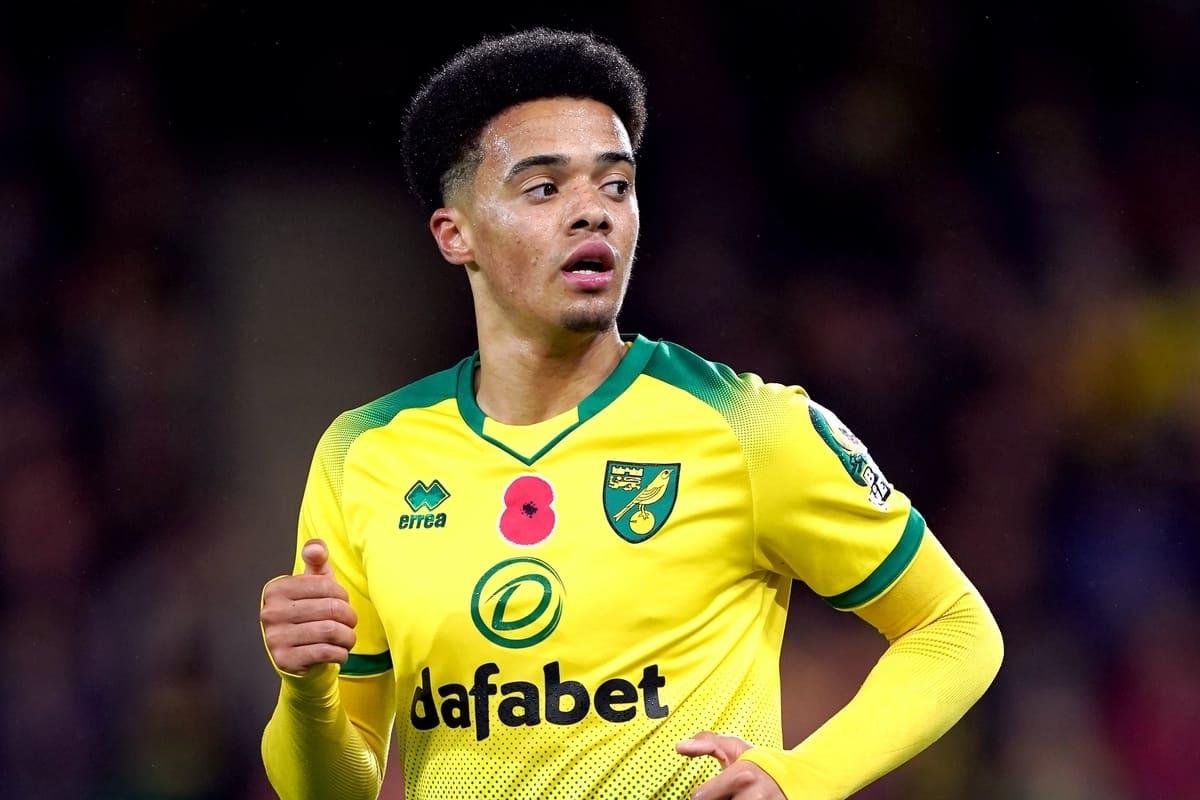 Norwich City's Jamal Lewis