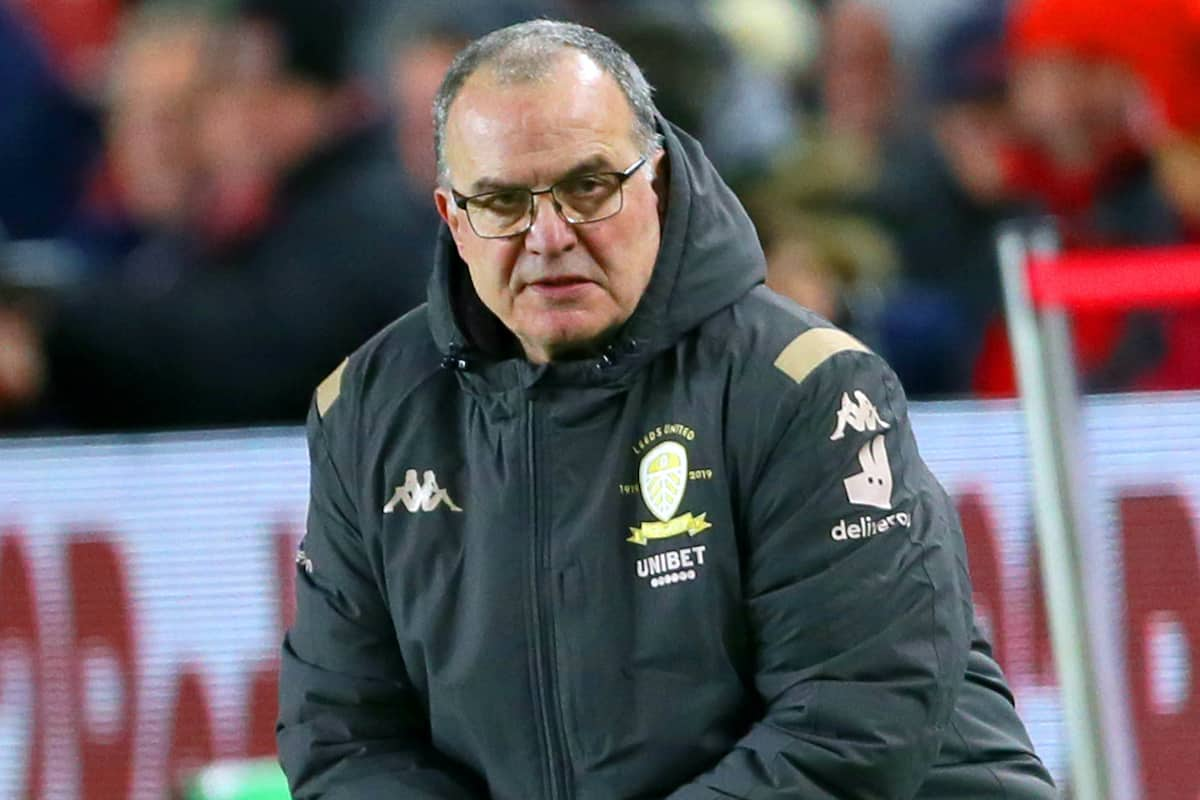 Leeds United manager Marcelo Bielsa. (PA Images)