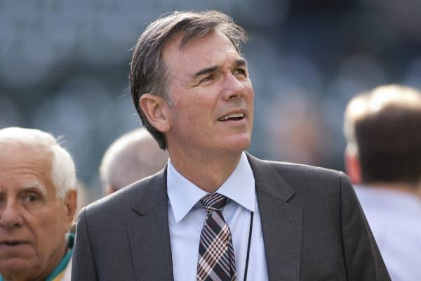 Billy Beane (Photo by D. Ross Cameron/Oakland Tribune/MCT/Sipa USA)