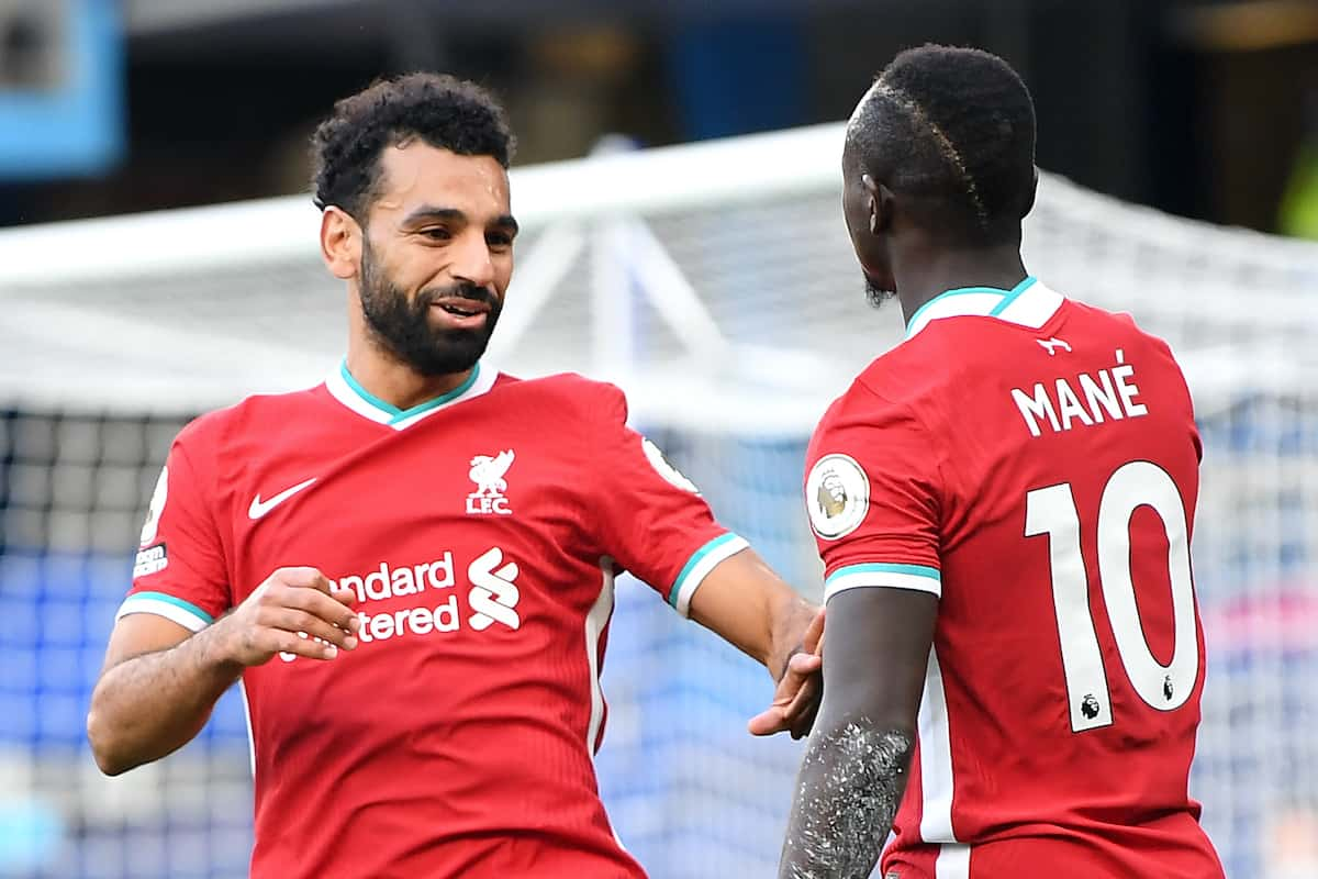 Mane and Salah (Image: Michael Regan/PA Wire/PA Images)