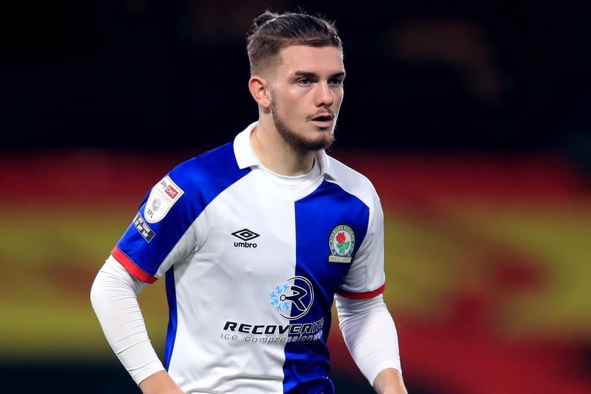 Blackburn Rovers' Harvey Elliott during the Sky Bet Championship match at Vicarage Road, London.