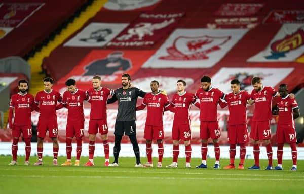 Liverpool, 2020, minutes silence ( Jon Super/PA Wire/PA Images)