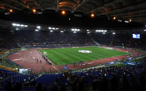 General view of the Stadio Olimpico in Rome, venue for the 2009 Champions League Final