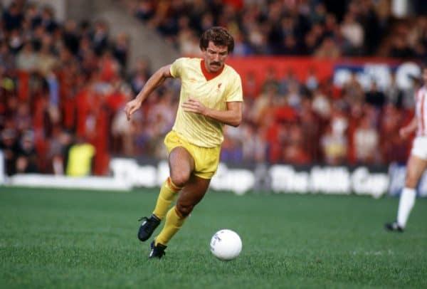 Graeme Souness, Liverpool, away kit, 1982 (Peter Robinson/EMPICS Sport)