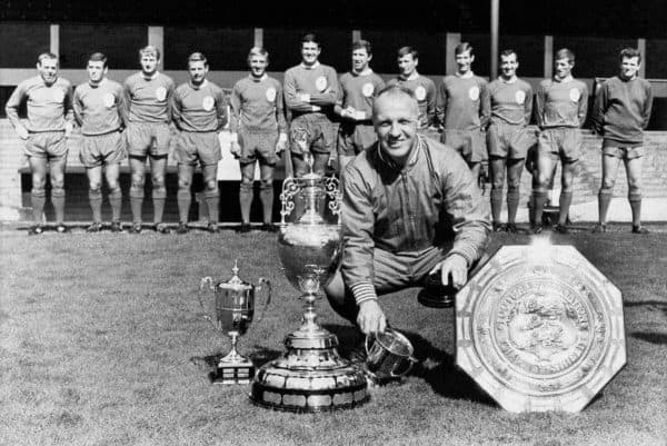 Soccer - Football League Division One - Liverpool Photocall. Bill Shankly.