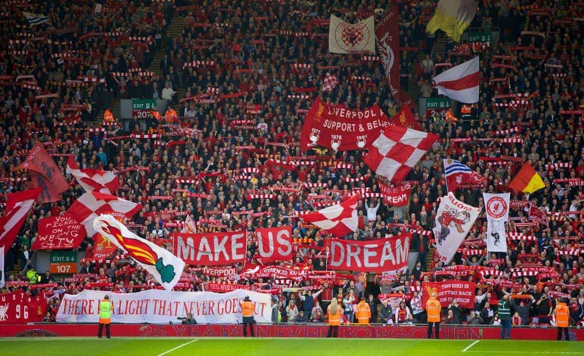 The Most Passionate 'You'll Never Walk Alone' For Years?
