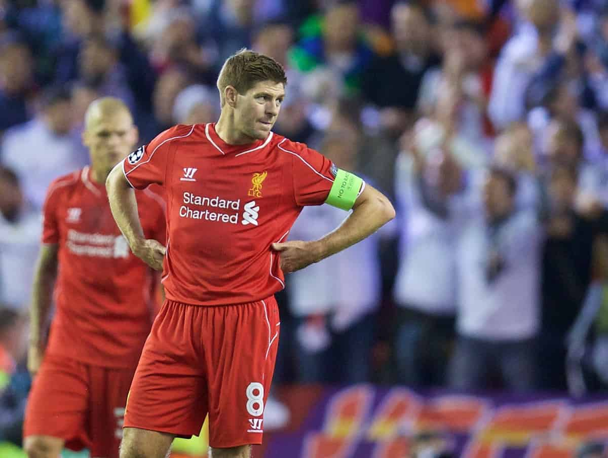 """Steven Gerrard Real Madrid snub """"pushed me"""" to leave Liverpool"""